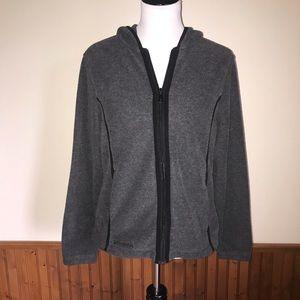 Columbia Hoodie Zip-up Fleece Sweatshirt Size Med